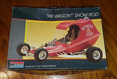 Vintage Monogram Pie Wagon Show Rod - 1/24 Scale - 1986 issue