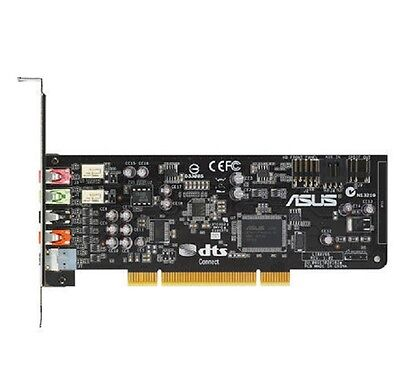 Asus Xonar DS Soundcard - PCI, 7.1 Channel, DTS Connect, GX2.5, Low Profile
