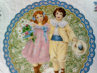 Royal Doulton Valentines Day 1976 Plate