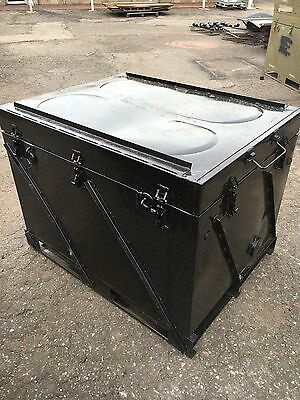 Steel Shipping & Storage Container, 4' L X 3' W, Waterproof & Dust Tight, 399lbs
