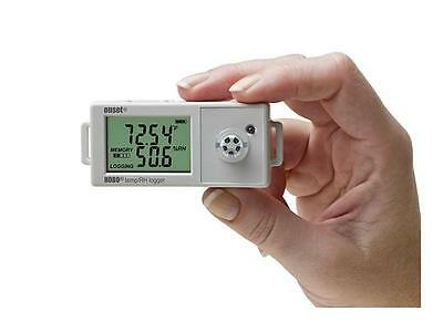 HOBO UX100-011 Temperature/Rel Humidity Data Logger w/ 2.5% Accuracy-Ships FREE!