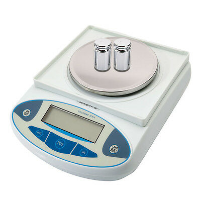 3000g/0.01g Accurate Digital Balance Laboratory Counting Weight Scale Precision