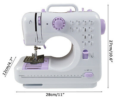 12 Stitches Household Sewing Machine(100-240V AC) Multi-function Lock Edge