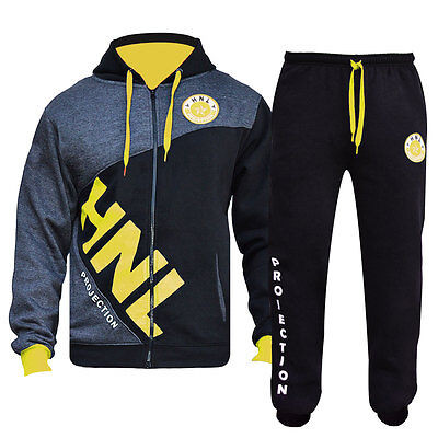 Kids HNL Boys/Girls 2 Pc Fleece Tracksuits,Hooded Jumper Jogging Suit Age7-14 yr