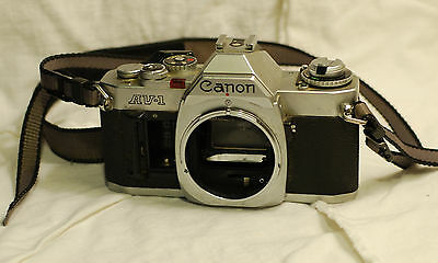 Canon AV-1 35mm SLR Film Camera Body Only, FD Mount, Made in Japan