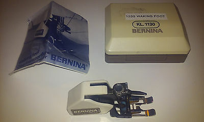 Authentic Bernina 1230 Walking Foot KL 1130 (with case and guide)