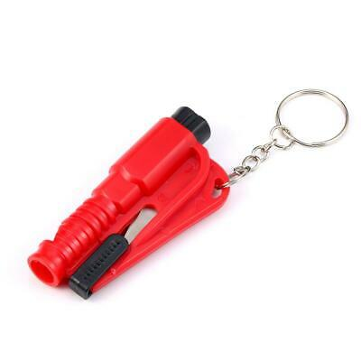 2 in 1 Keyring Rescue Tool * Window Breaker * Seatbelt Cutter * Car Safety *