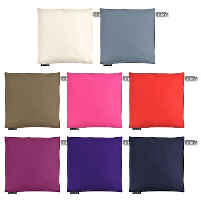 Cherry Stone 24cm Square Pillow Microwave Heat Pack for Pain Relief WheatyBags®