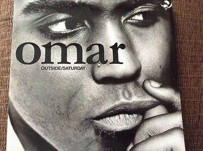 "Omar - outside - Saturday - great condition uk 12"" vinyl"