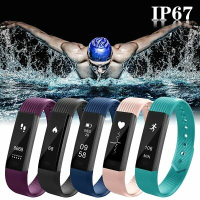 Genuine Smart Wristband Sports Fitness Activity Tracker Bluetooth Bracelet Watch