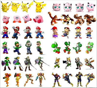 "2026 Hot Video Game - Super Smash Bros 15""x14"" Poster"