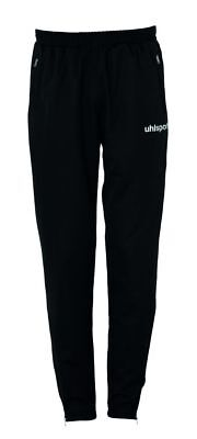 Uhlsport Womens Sports Training Pants Trousers Tracksuit Bottoms Black White