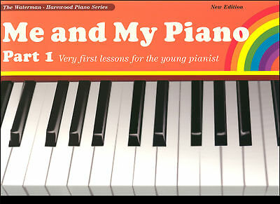 Me And My Piano Part 1 Waterman and Harewood Sheet Music Book  - NEW EDITION!