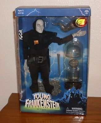 """Young Frankenstein 12"""" Igor Figure Sideshow 2001 Limited Edition"""