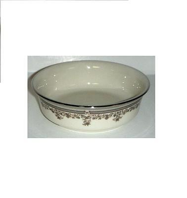 LENOX LACE POINT Fruit / Dessert Bowl PLATINUM NEW Made in USA