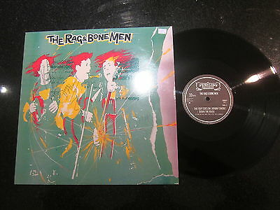 """The Rag & Bone Men """"the Fight Goes On"""" 12"""" Ep (Angel Brothers) Signed!"""