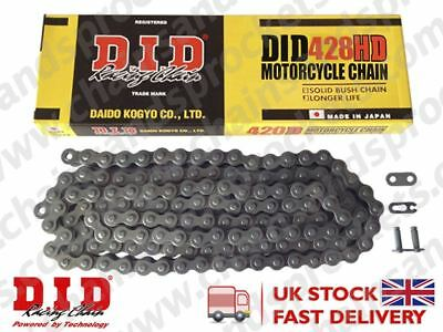 DID Heavy Duty Chain 428 / 138 links fits Hyosung GV125 C Aquila 01-10