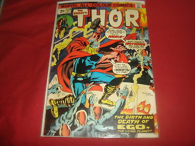 THE MIGHTY THOR #228    Rich Buckler  Marvel Comics 1974  FN-