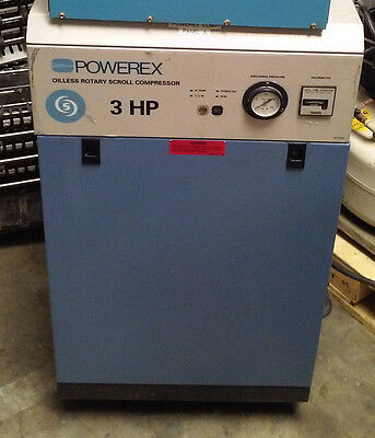 Powerex 3Hp Oiless Scroll Compressor