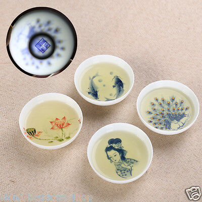 Chinese porcelain tea cup small cup kungfu tea cups tassie handpainted on sales