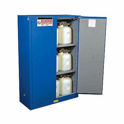"Hazard Material Safety Cabinet - 2 Door - 43""W x 18""D x 65""H 1 ea"