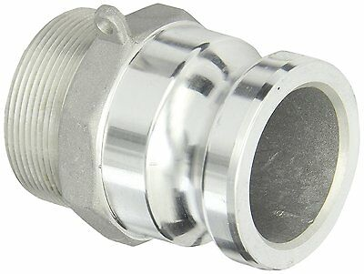 Dixon Aluminum A380 Global Type F Cam and Groove Fitting, Plug x NPT Male