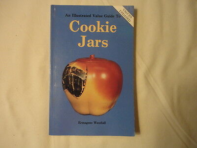 Vintage Cookie Jars Price Guide Collector's Book  Softcover   1995