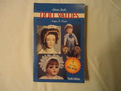 Vintage Doll Values  Price Guide Collector's Book  Softcover   1993