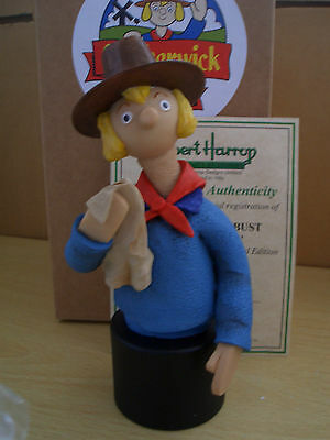 Warm Work Camberwick Green Windy Miller Bust Chg01 Harrop With Box