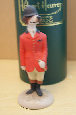 Foxhound Hunting Red Jacket Signed Cc06 Robert Harrop
