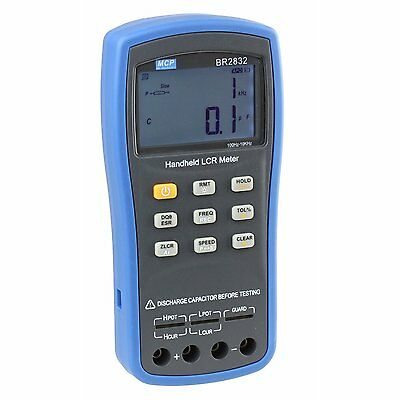 MCP BR2832 High Precision Digital LCR ESR Meter with Signal Frequency