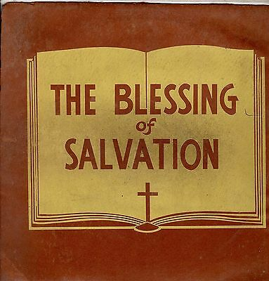 """ THE BLESSING OF SALVATION. "" various artists. TABERNACLE JA orig  L.P."