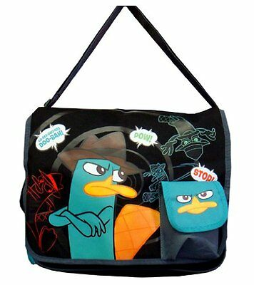 Phineas and Ferb Cloth messenger pamper bag backpack