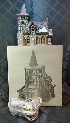 "House - Dept '56 in box, Dickens' Village, ""Old Michael Church"""