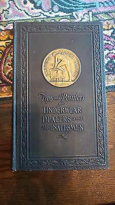 1923 Business Book TIPS & POINTERS FOR UNDERWEAR DEALERS & THEIR SALESMAN Cooper