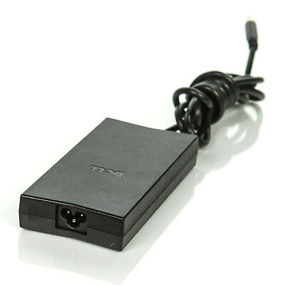 Genuine OEM Dell 130W AC/DC Laptop Adapter Charger PA-4E 19.5V JU012