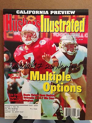 Autographed Huskers Illustrated by Eric Crouch Nebraska Cornhuskers