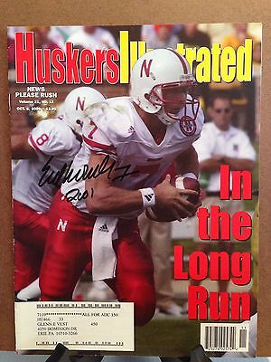 Autographed Huskers Illustrated by Eric Crouch of the Nebraska Cornhuskers