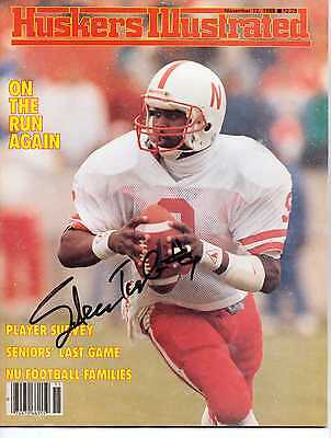 Autographed Huskers Illustrated by Steve Taylor of the Nebraska Cornhuskers