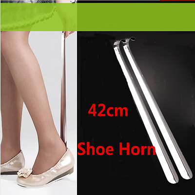 20/10/5 pcs 42cm Comfy Shiny Silver Metal Shoe Horn Spoon Stainless Steel Lot