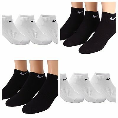 Nike's 3Pairs Boys Performance Moisture Wicking Free S&H US Seller