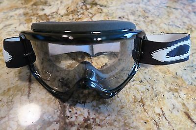 oakley ansi z87 1 prescription safety glasses r5w8  Oakley O-frame Goggles Mx Atv Motocross Motorcycle Dirt Black Frame