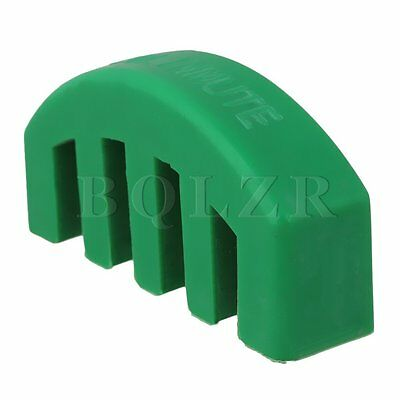 Green Violin Practice Mute Metal for Violin Musical Instrument Parts