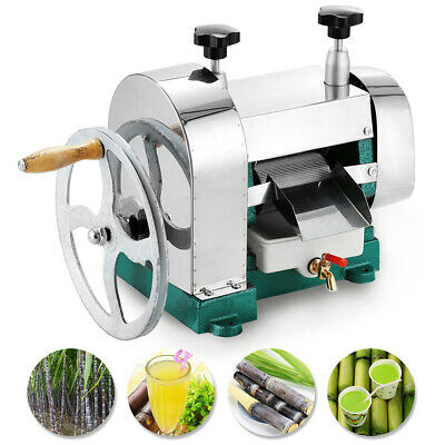 Manual Commercial Sugar Cane Juicer Ginger Squeezed Juice Machine Extractor Mill