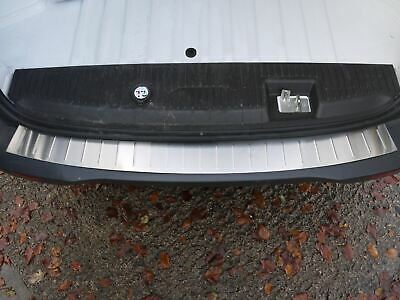Chrome Brushed Stainless Steel Rear Bumper Sill Cover for Ford Transit Courier