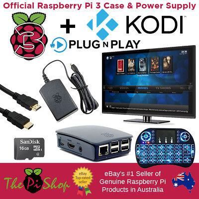 The Ultimate KODI Streaming Pack built on the famous Raspberry Pi 3