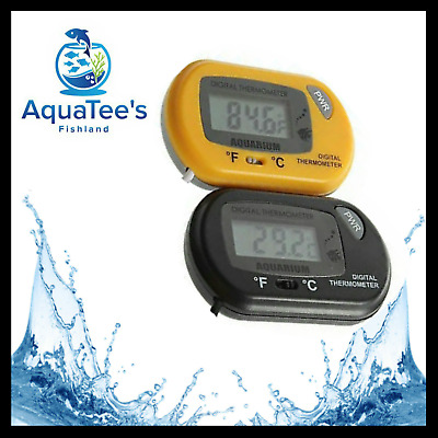 LCD Digital-Glass Fish Aquarium Thermometer Water Terrarium FREE Batteries nano