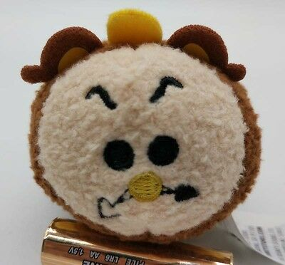 Disney Cogsworth Tsum Tsum Beauty and the Beast Clock Mini Plush toy Doll 3.5""