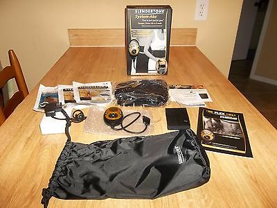 Slendertone System-Abs Unisex Body Muscle Toning System 3 Sets Pads Rechargeable