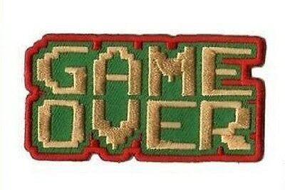 GAME OVER - Gaming Toys - Aufnäher Patch Aufbügler Applikation - #9350 FUN